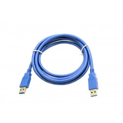 CABLE USB 3.0 TIPO A-A MACHO-MACHO 1,8M