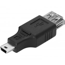 ADAPTADOR OTG MINI-USB M A USB H 2.0