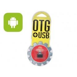 ADAPTADOR OTG 2.0 MICRO USB M - USB TIPO A H
