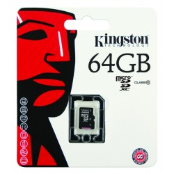 TARJETA MEMORIA MICRO SD 64GB CLASE 10