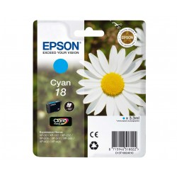 TINTA EPSON CIAN 18 XP-215 C13T18024010
