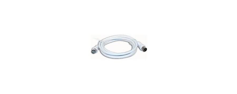 CABLES Y CONECTORES CABLES LATIGUILLO ANTENA TV