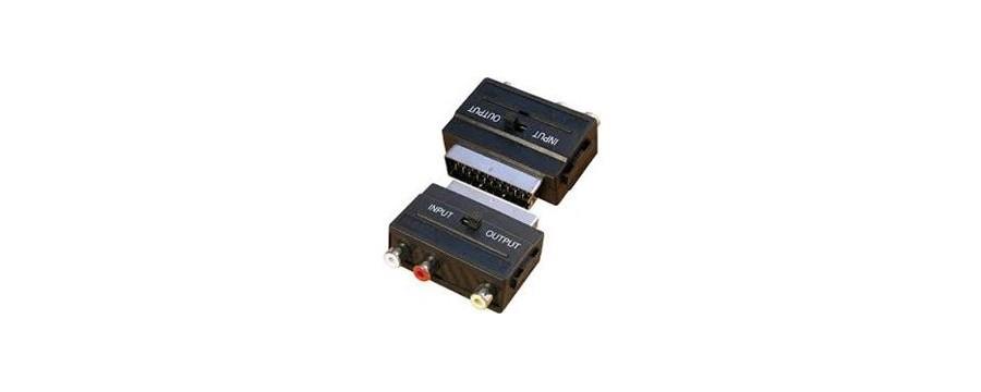 CABLES Y CONECTORES CONECTORES Y ADAPTADORES EUROCONECTOR,SCART